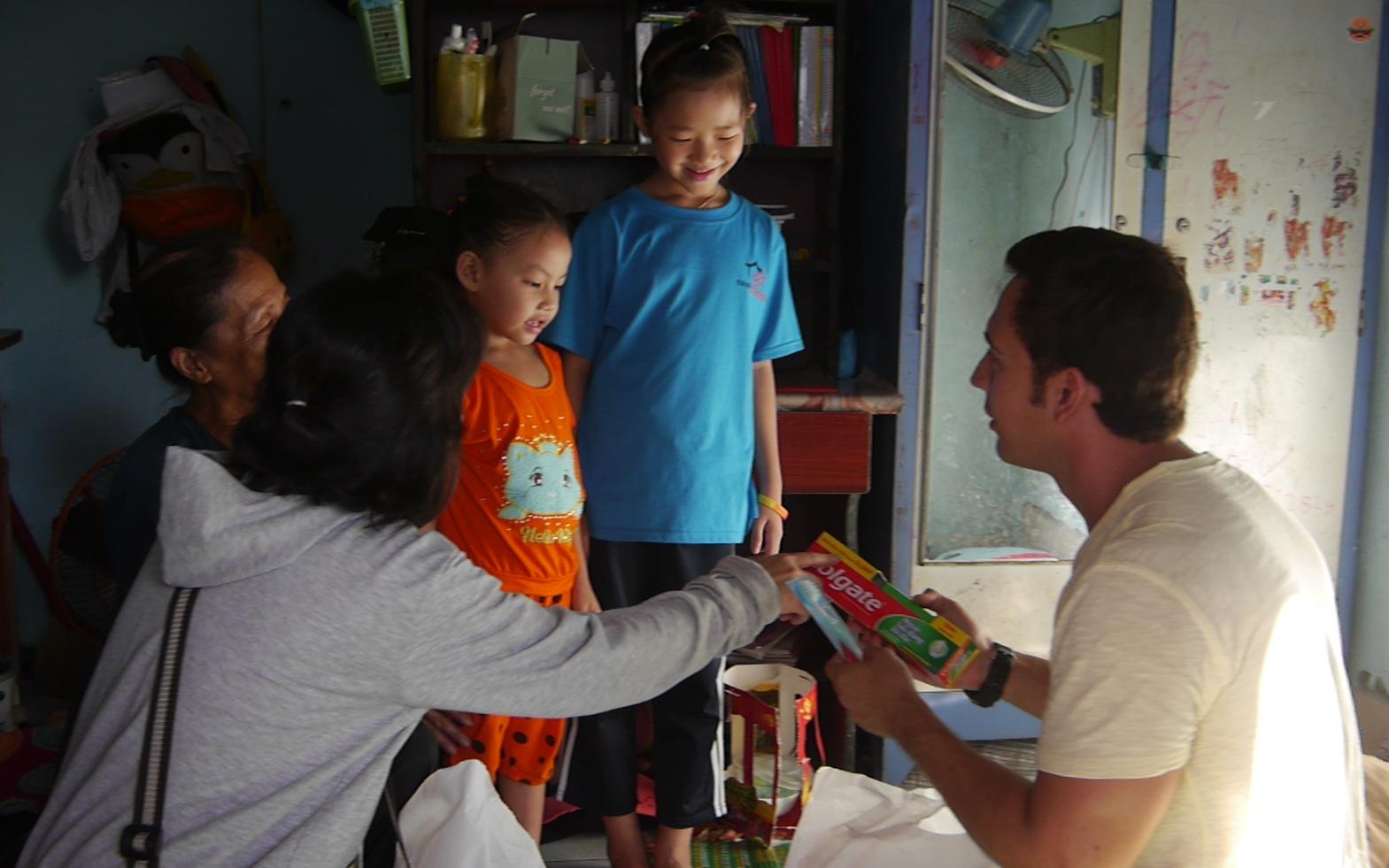 Hygiene Education to 197 HIV Children