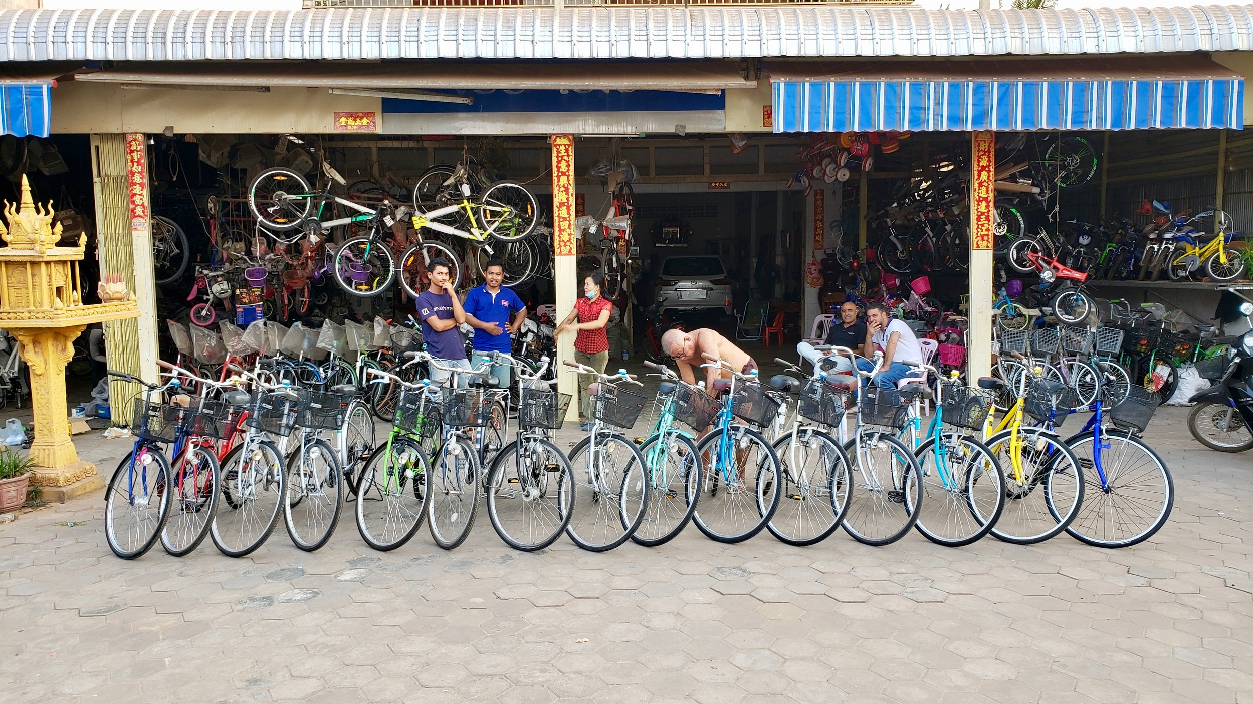 15 Bicycles to Deprived Rural Students