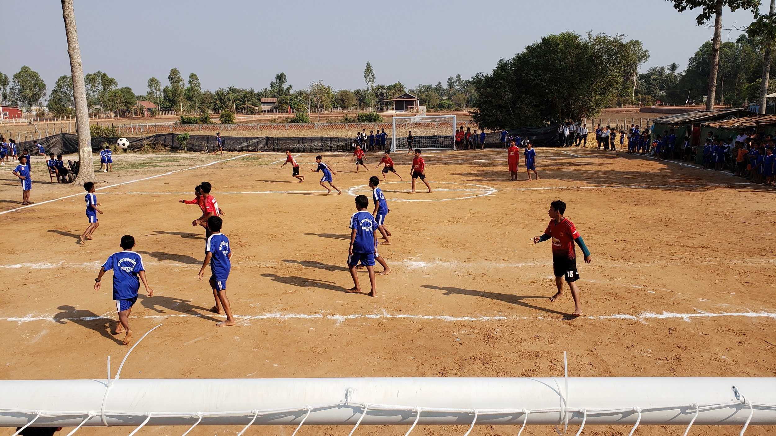 Soccer Field & Volleyball Court - Cambodia
