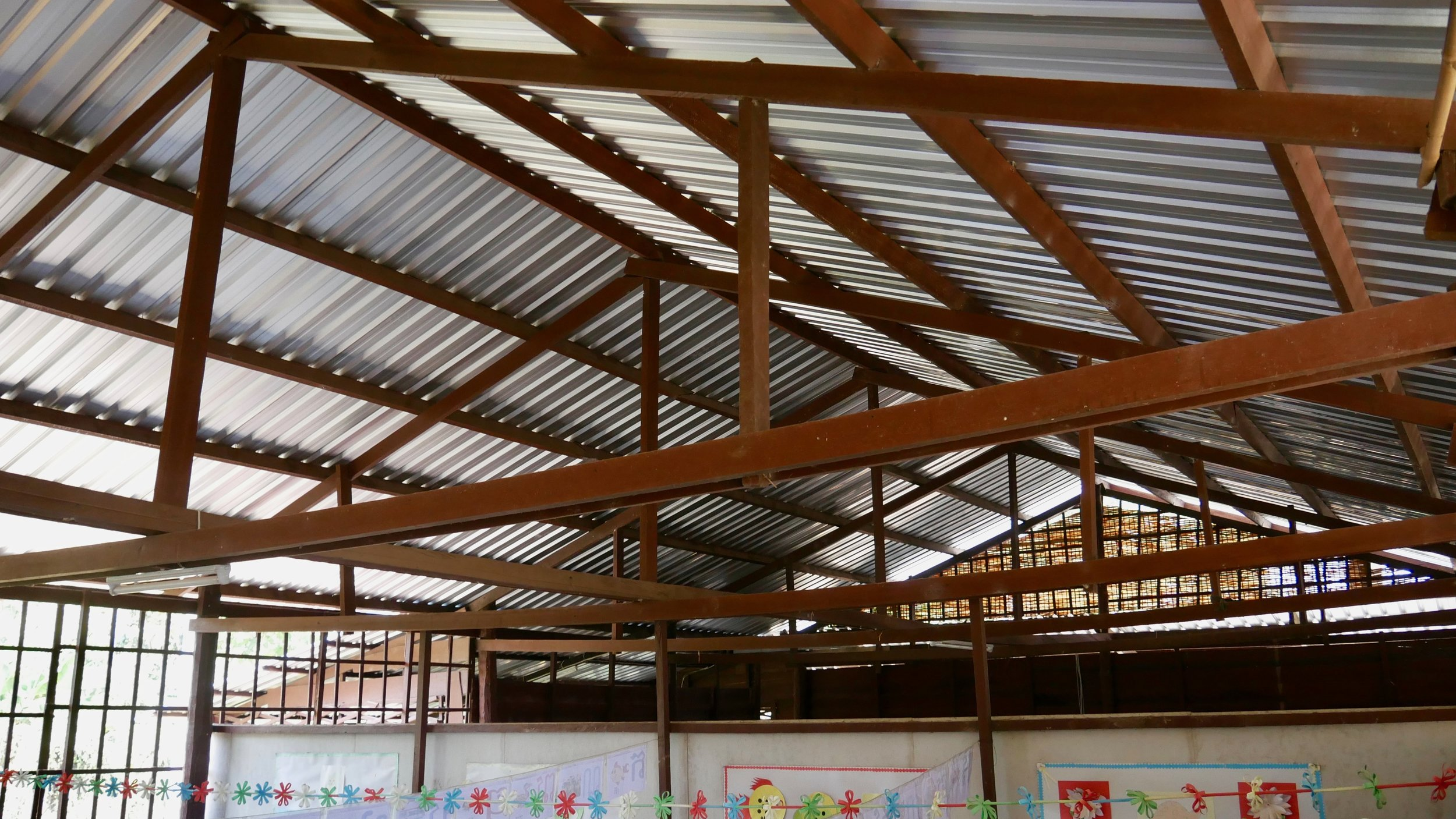 New School Roof