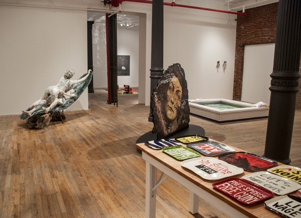 This is what sculpture looks like  Installation View, Photo by Postmasters