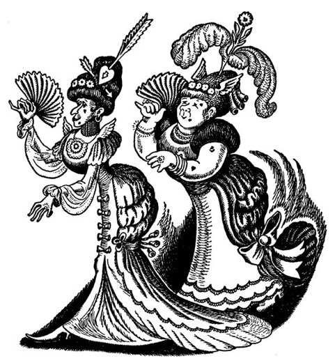 Illustration from Wanda  Gág's Cinderella , via Brain Pickings .