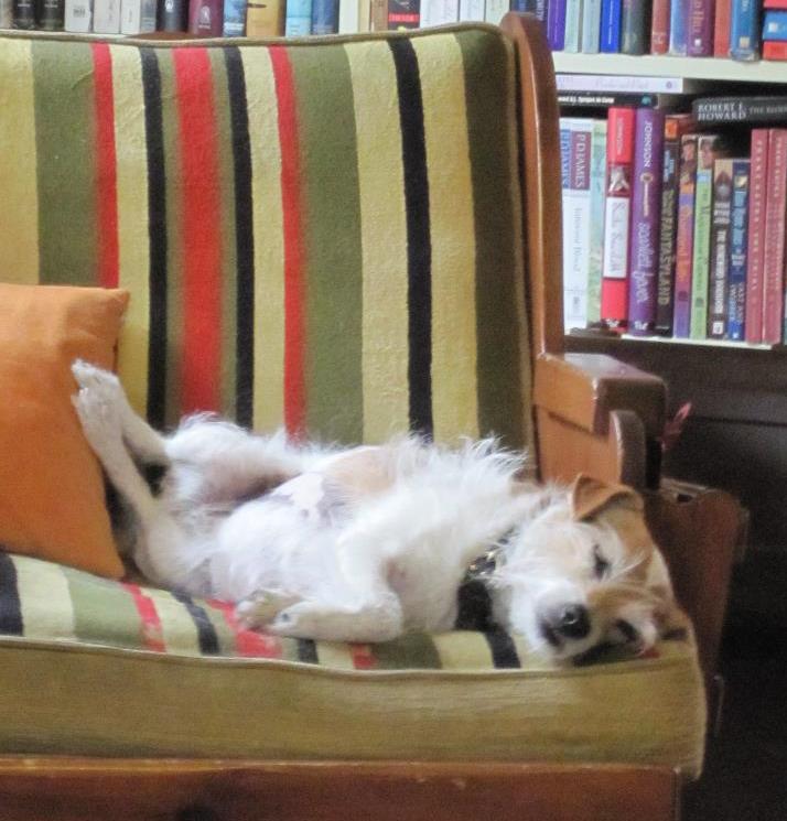 Jane in full repose.