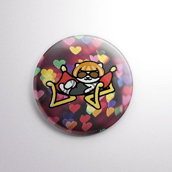 Neko Atsume Lady Meow-Meow button