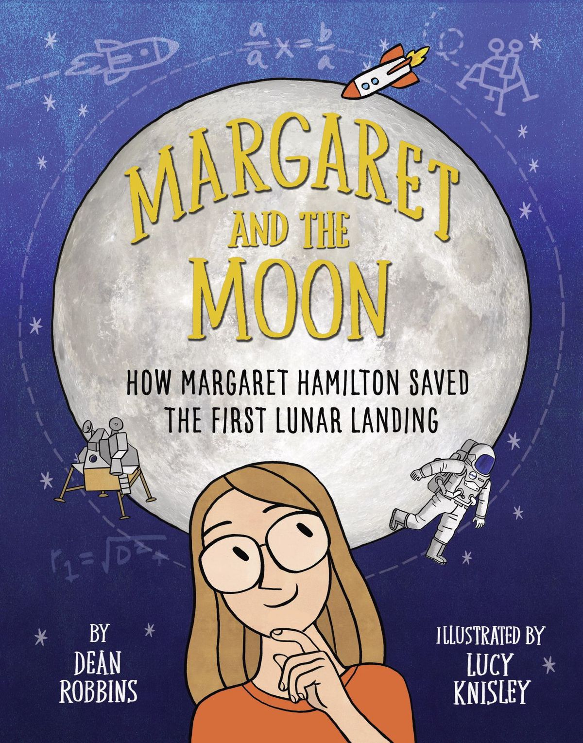 Margaret and the Moon, by Dean Robbins