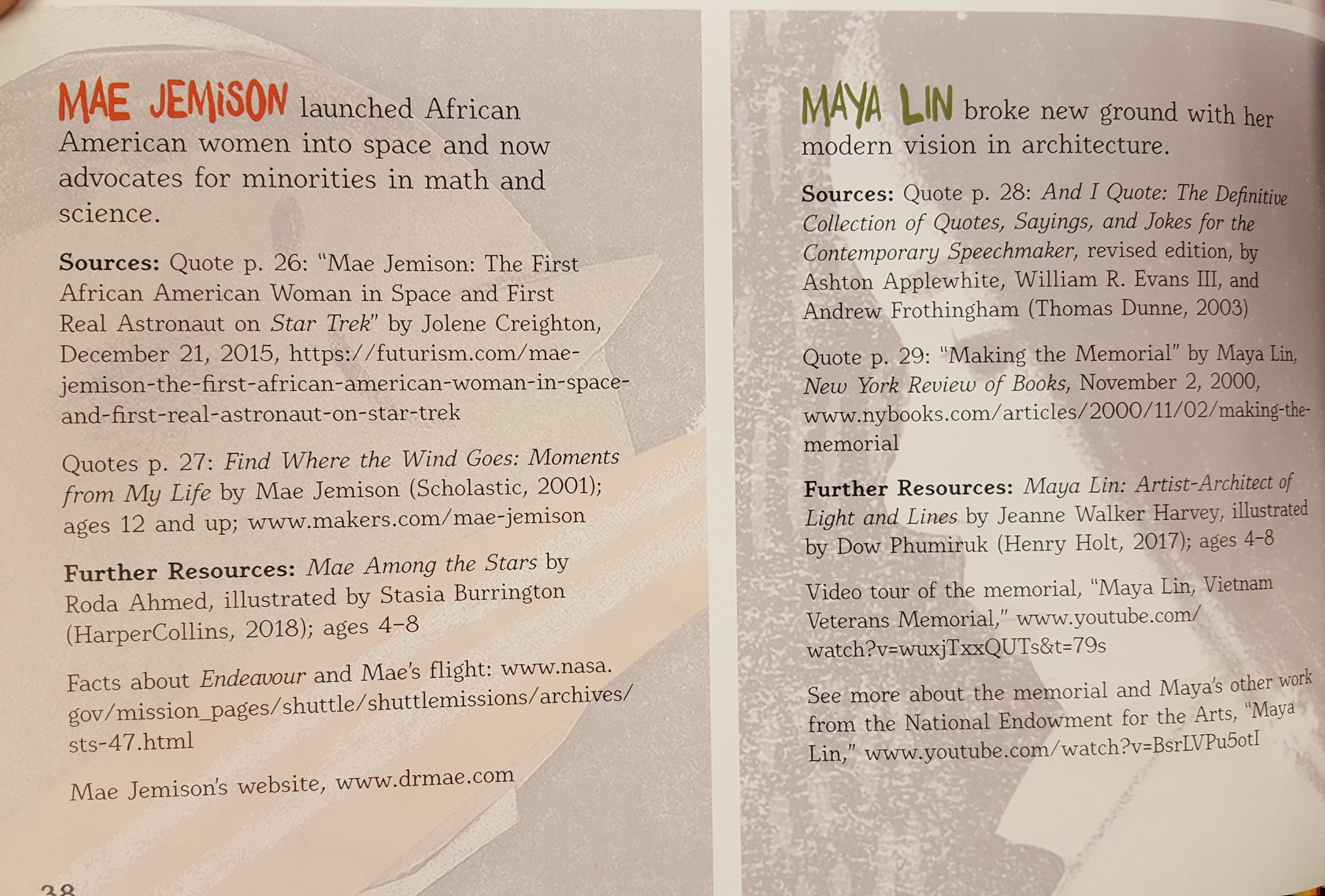 Excerpt from the bibliography.