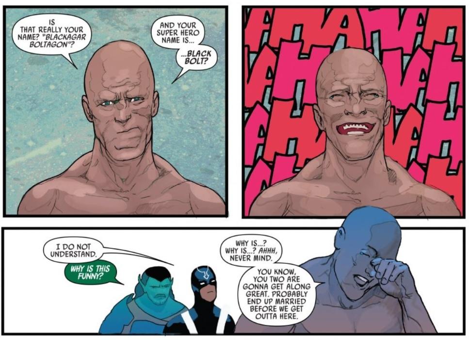 Communication Breakdown in Black Bolt #2