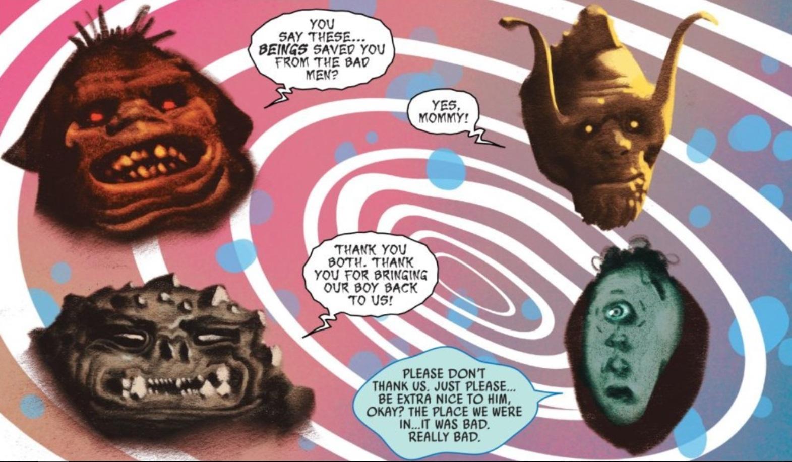 Black Bolt #7: THE ART OMG