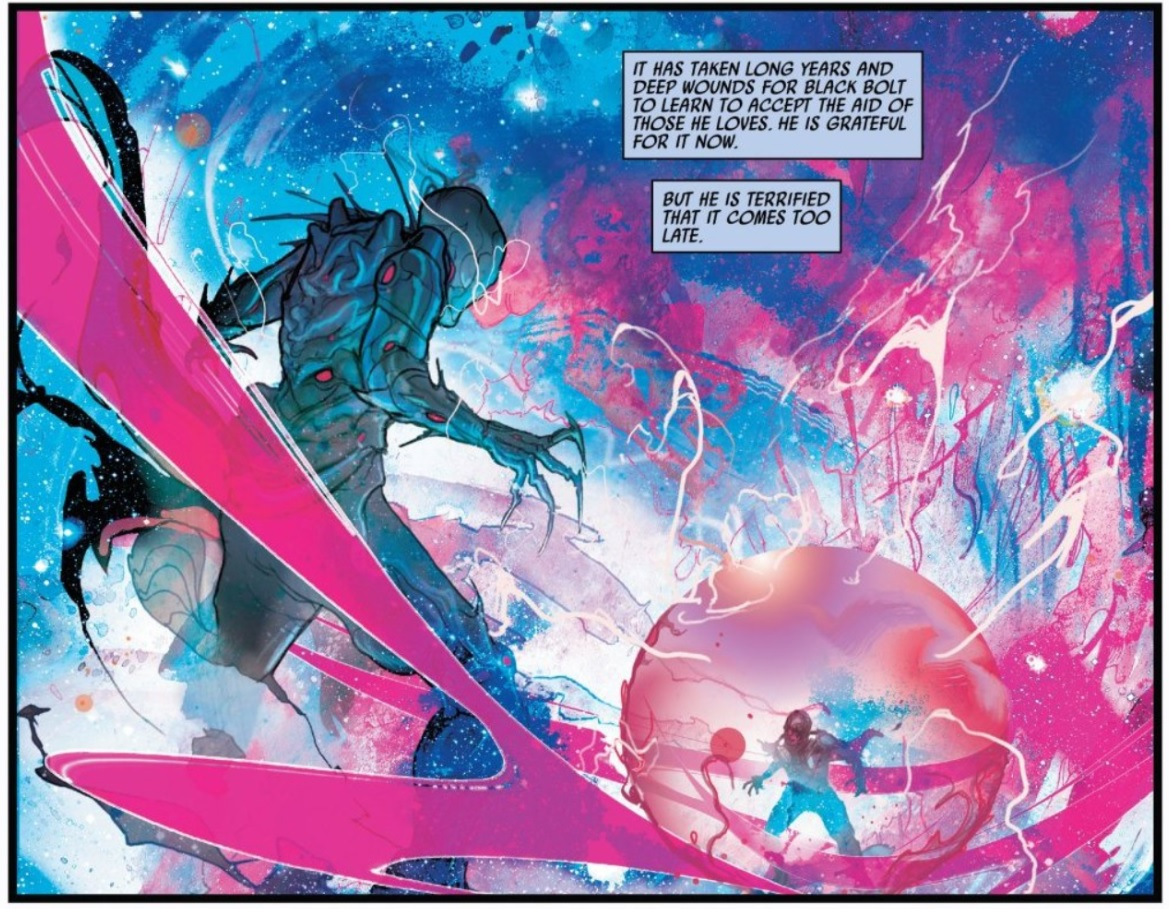 Black Bolt #12: AGAIN WITH THE ART, I SWOON