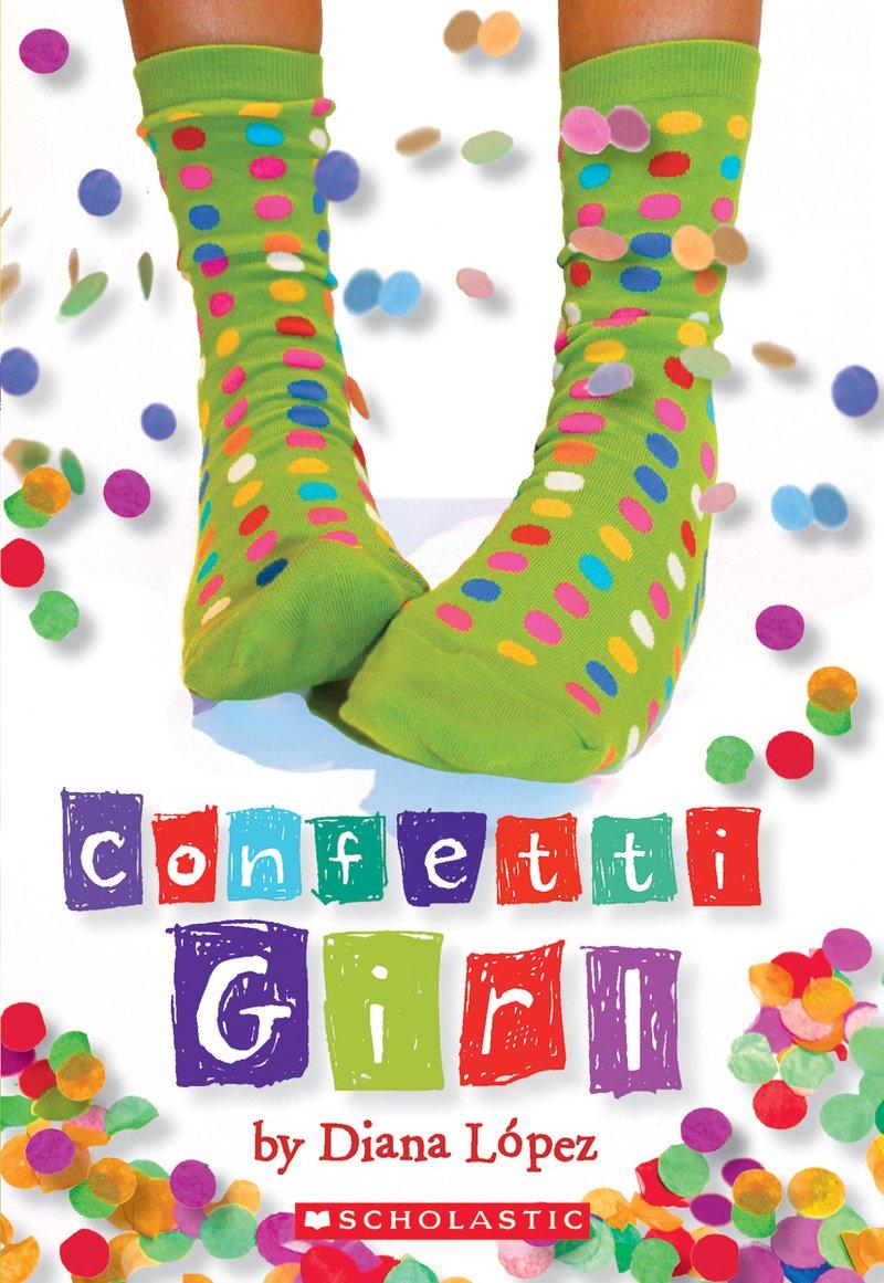 Confetti Girl, by Diana López