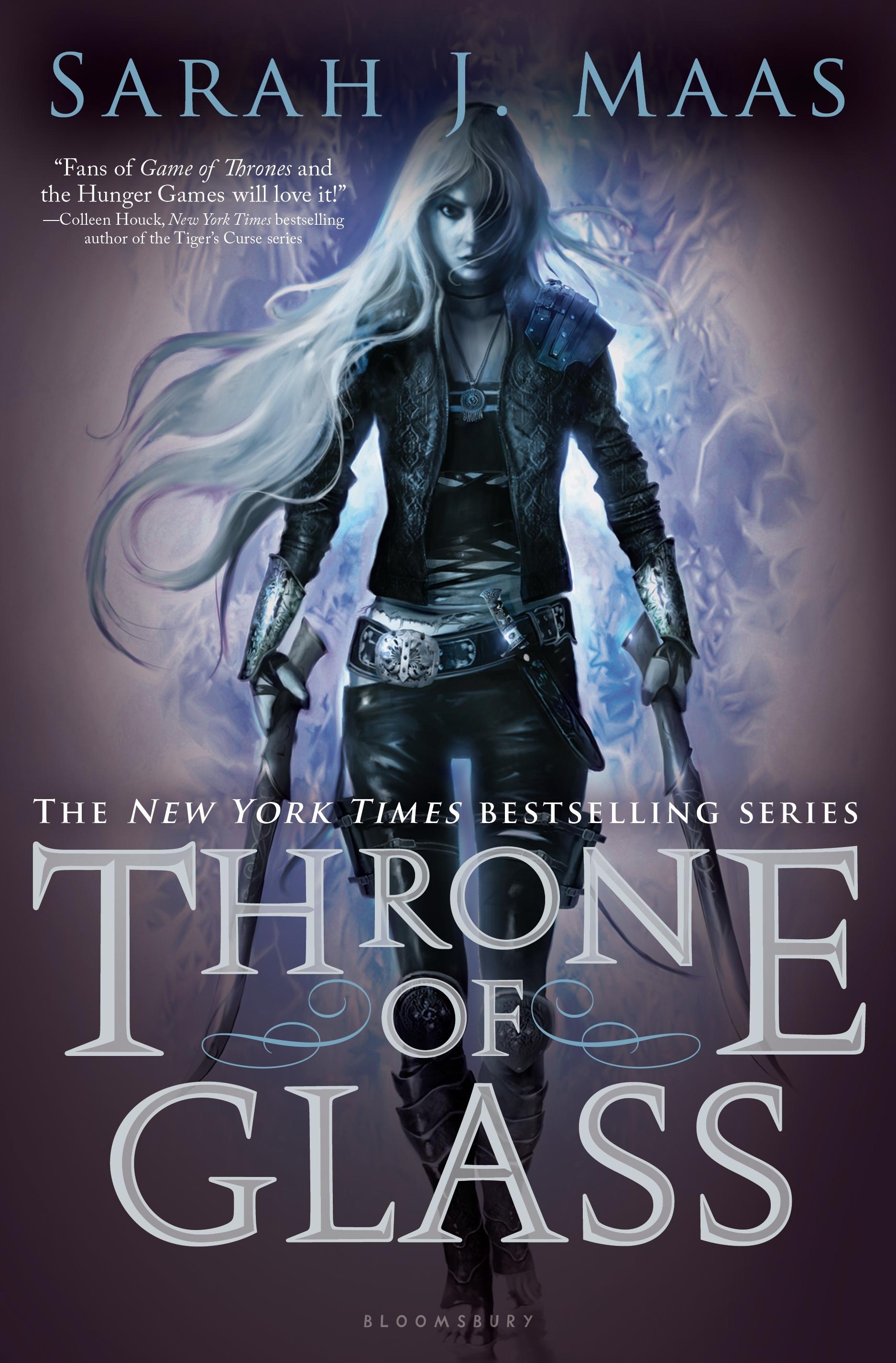 Throne of Glass , by Sarah J. Maas
