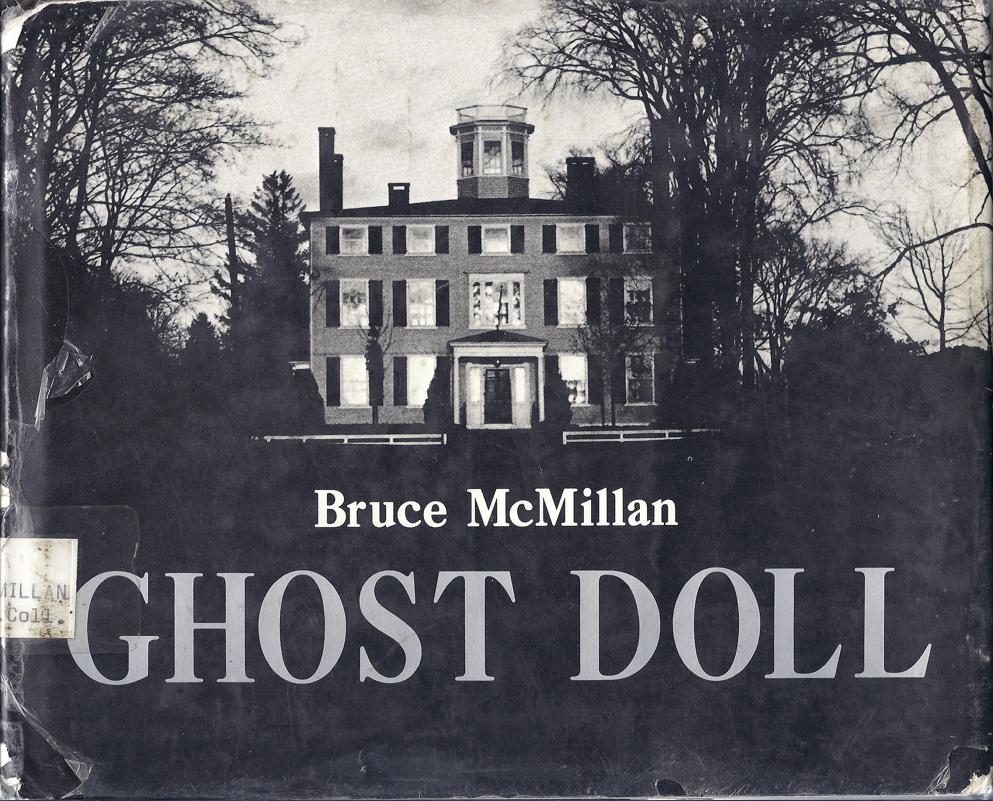 Cover of  Ghost Doll , by Bruce McMillan.