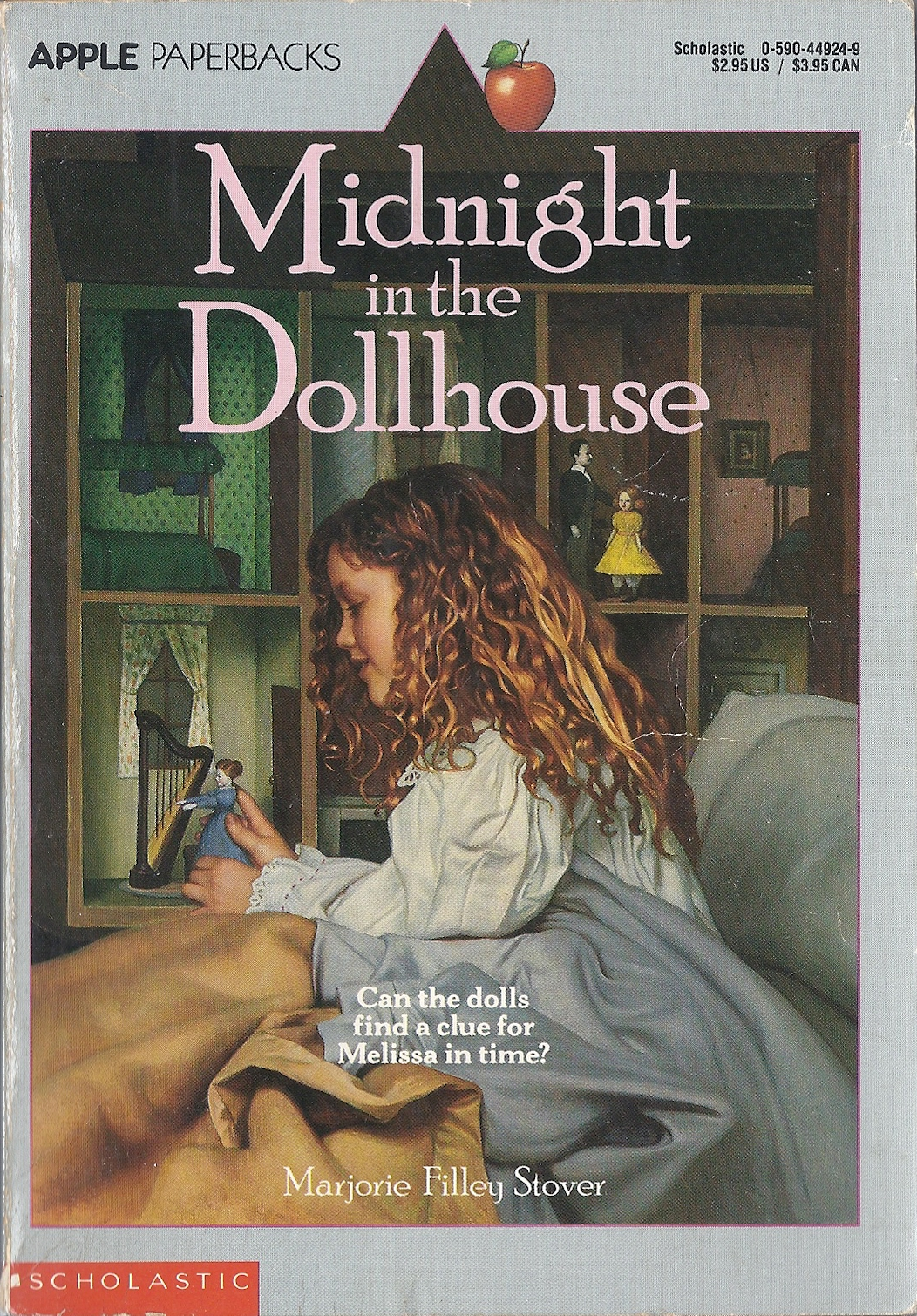 Cover of  Midnight in the Dollhouse , by Marjorie Filley Stover.
