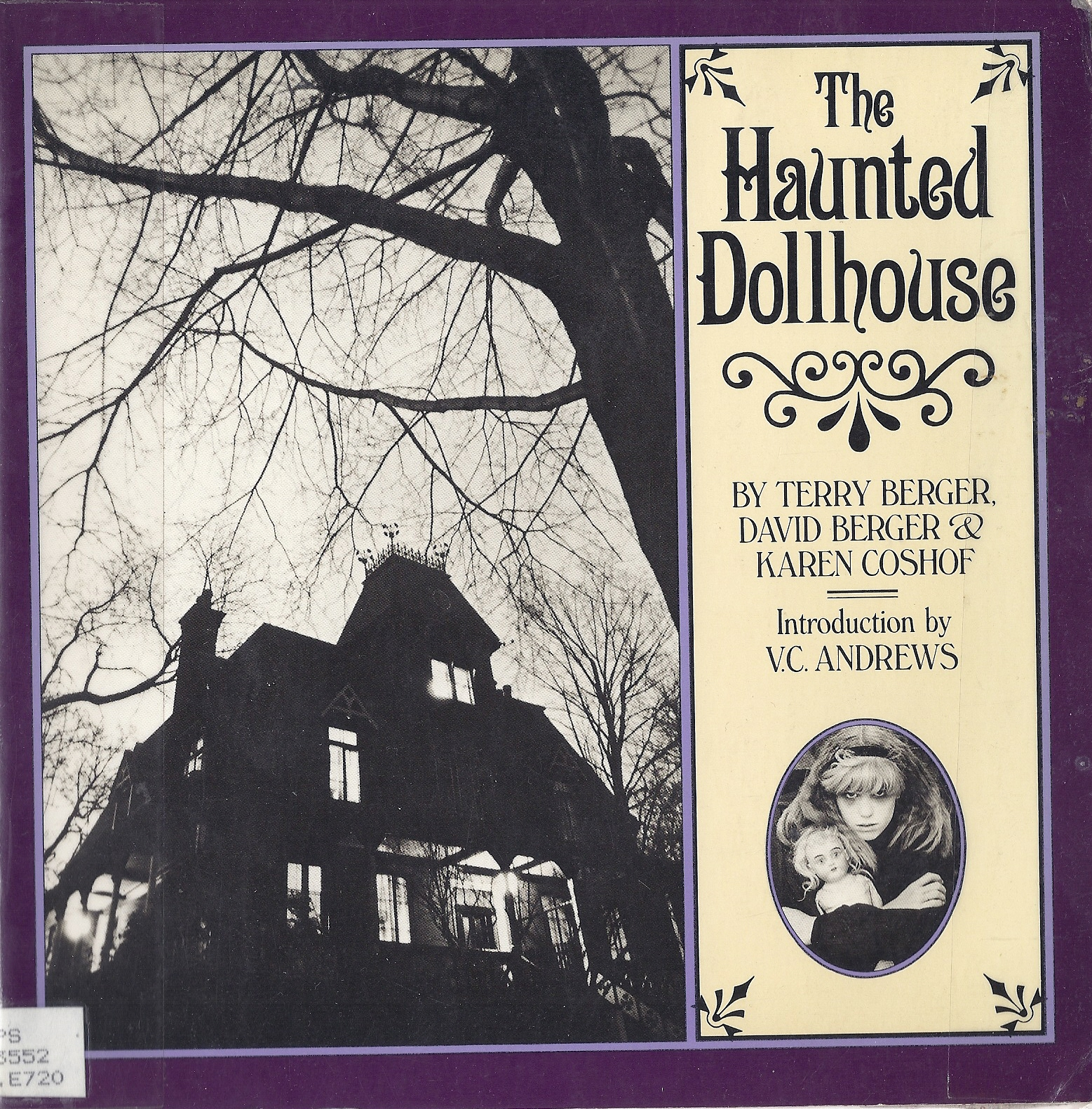 Cover of  The Haunted Dollhouse , by Terry Berger, David Berger, and Karen Coshof.
