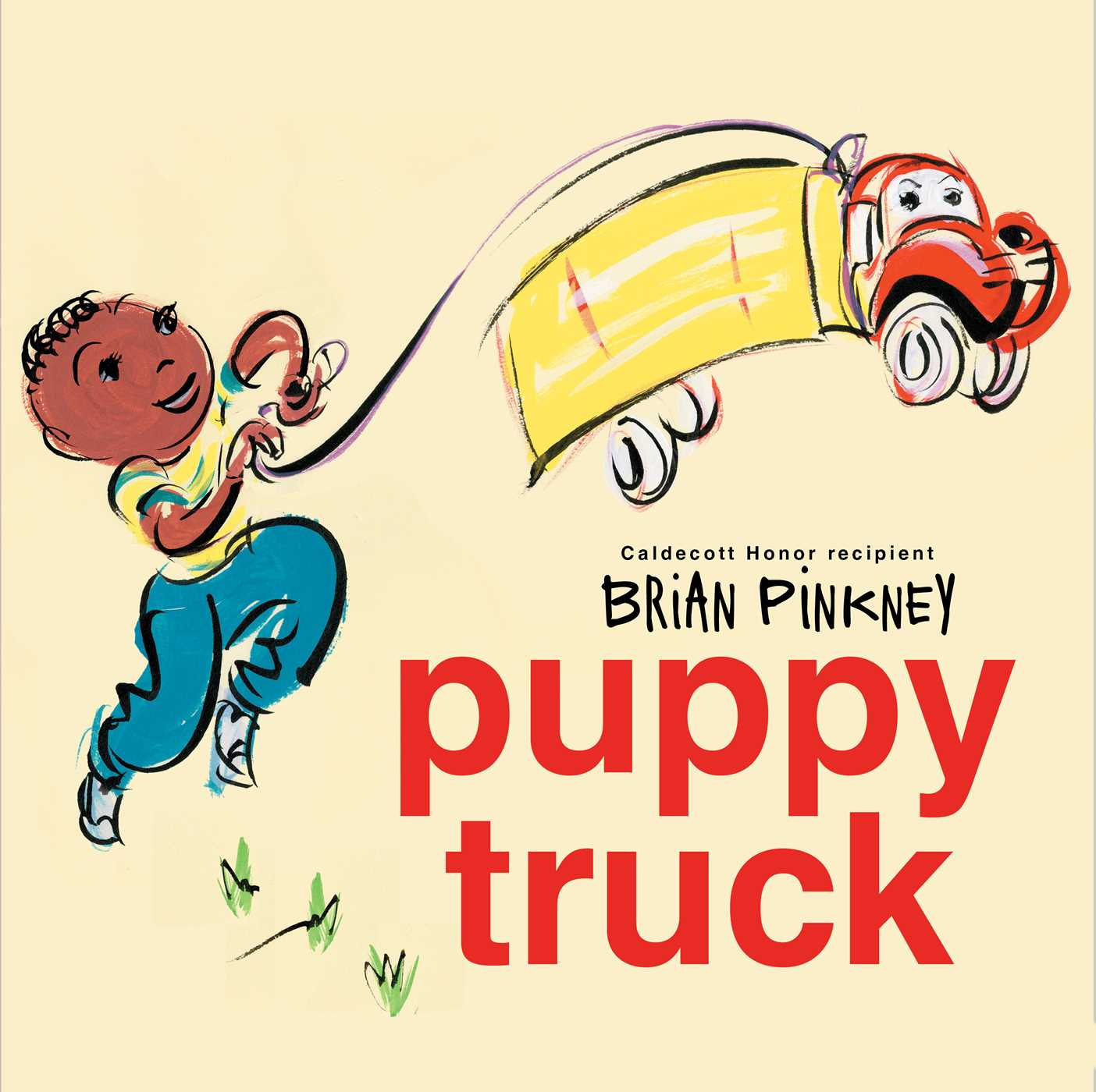 Puppy Truck , by Brian Pinkney