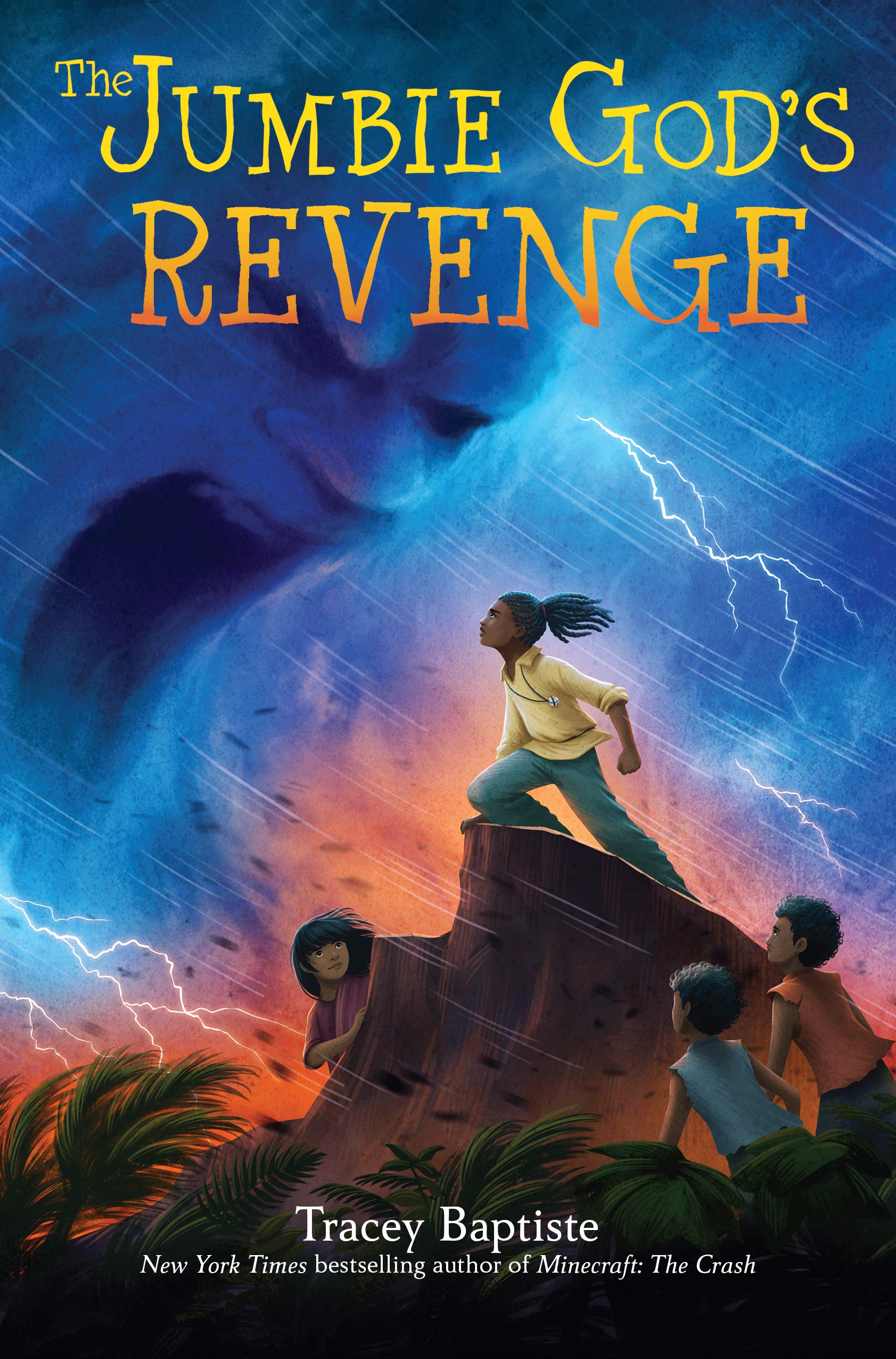 Cover of  The Jumbie God's Revenge , by Tracey Baptiste