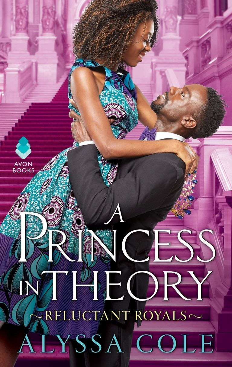 Cover of  A Princess in Theory , by Alyssa Cole