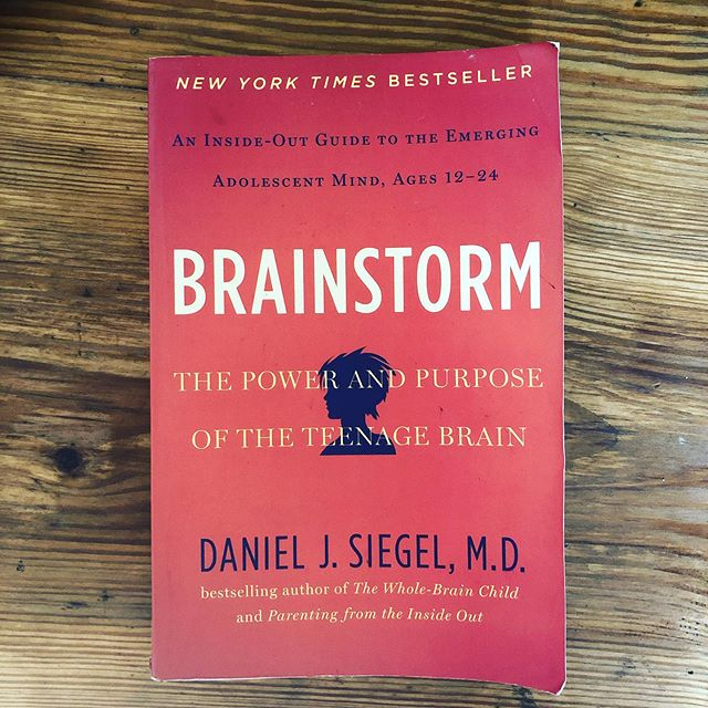 My pal @courtneyharriscoaching mentioned a book she had been meaning to read for a while, which reminded me of a similar experience with this book!  @drdansiegel constantly pops ups in my work with teens, and this book is one that I refer to often! He's always referring to the adolescence as glorious time of growth and exploration, not a time that we need to 'just get through'! And I'm with him on that!  Another pal of mine @theopenbookchat always inspires me to keep up with my reading and continue learning! In fact, if you want to broaden your knowledge on all facets of identity, Ryan is a fantastic resource!!