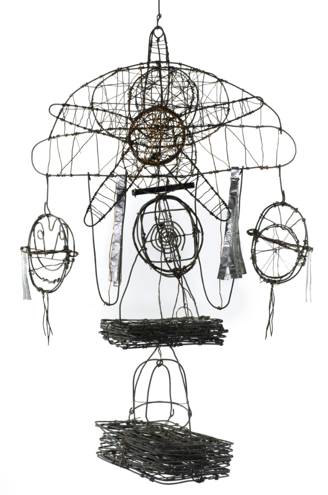 Emery Blagdon Untitled #913, c.1954-1986 Steel/ Wire/ Copper 25 x 16 inches / 63.5 x 40.6 cm / EmB 913