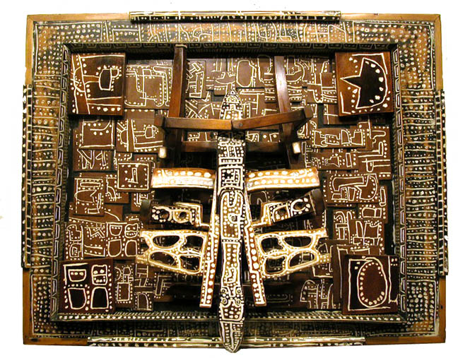 Keith Goodhart Object From My Friend Who's Gone, 2005 Mixed media 33.5 x 43 x 8 in / 85.1 x 109.2 x 20.3 cm / GK 198