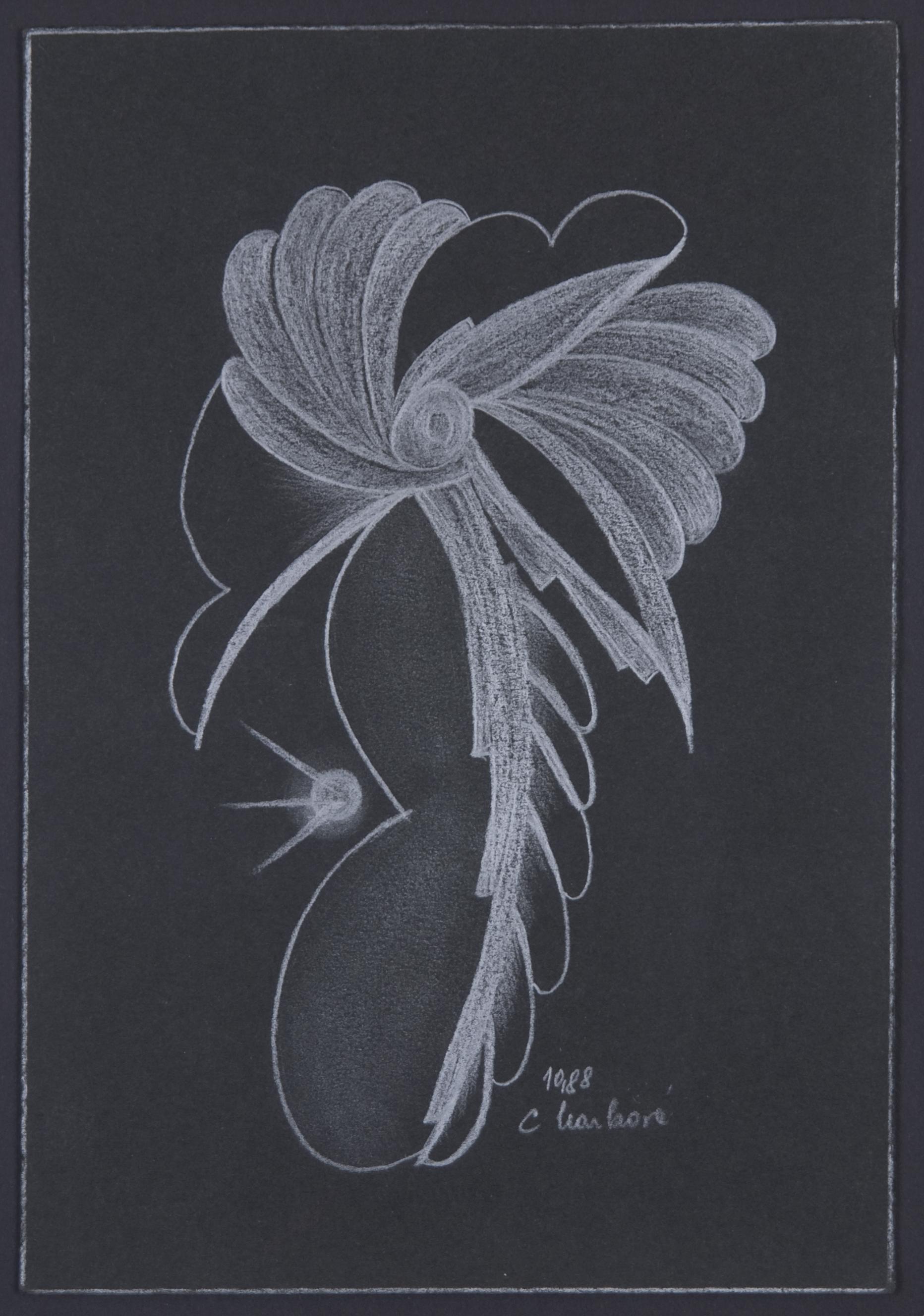 Cecilie Markova    Untitled  , 1988 Graphite/paper 9 x 6 inches / 22.9 x 15.2 cm / CMa 1