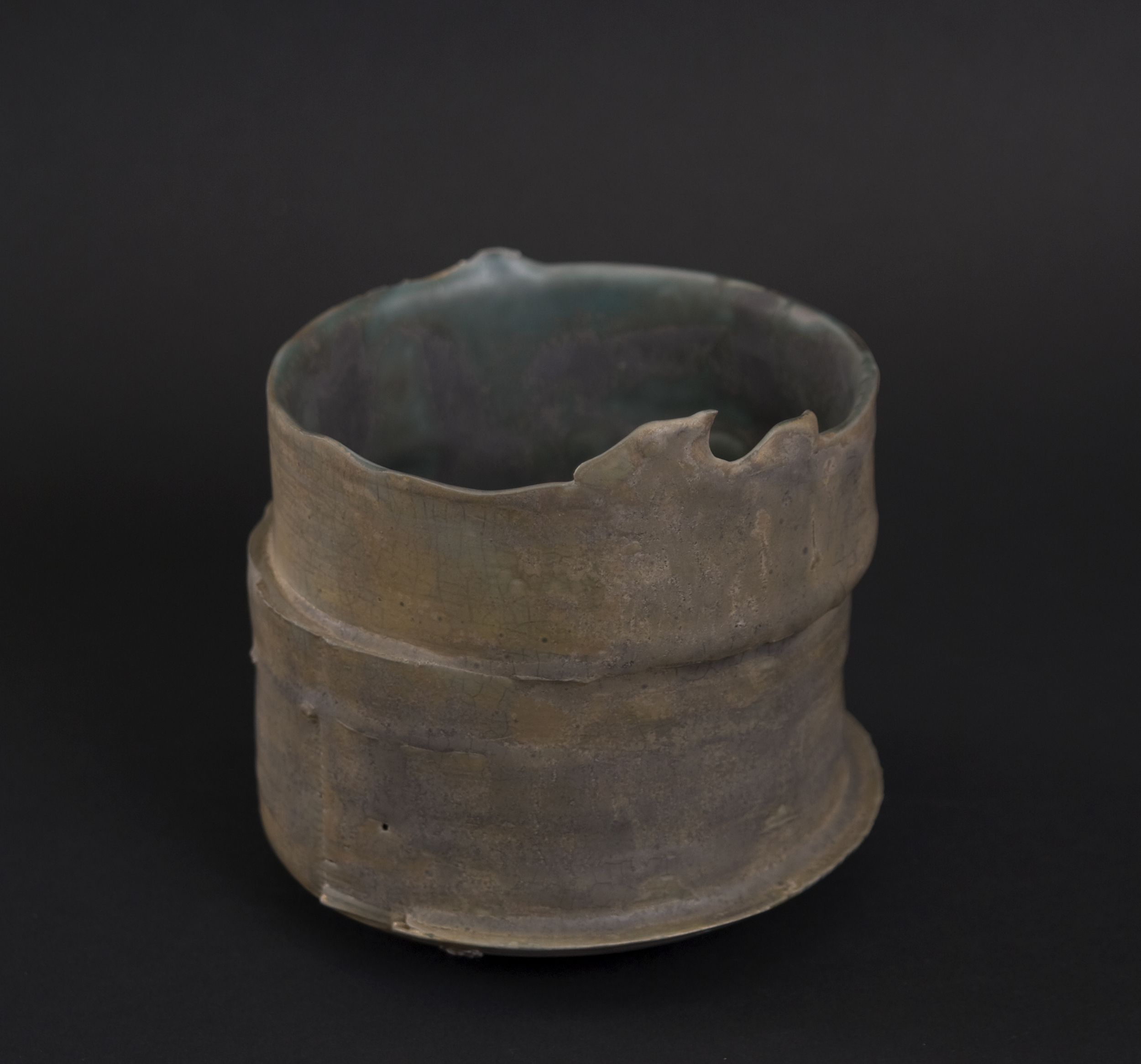 Hideo Matsumoto    Chawan with Signed Box  , 2009 Porcelain 4 x 4 x 4 inches / 10.2 x 10.2 x 10.2 cm / HMA 1