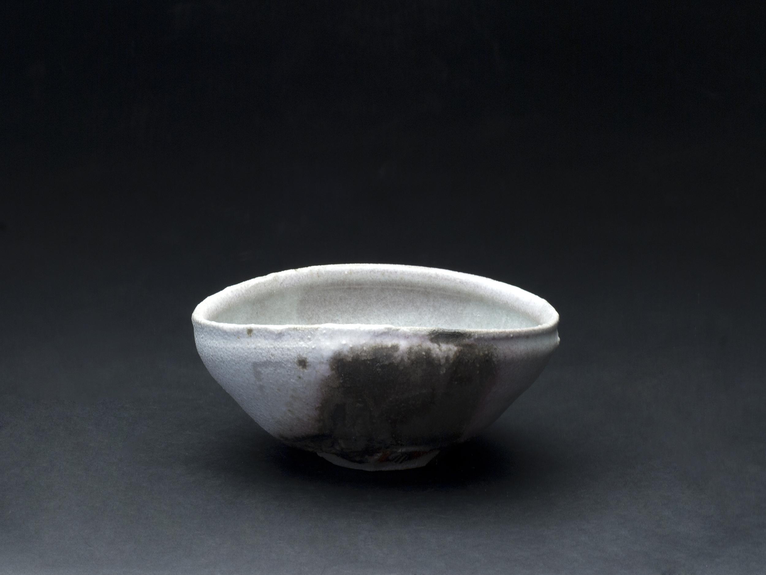 Jeff Shapiro    Chawan  , 2012 Ceramic 2.75 x 6.5 x 5.625 inches  7 x 16.5 x 14.3 cm  JSh 47