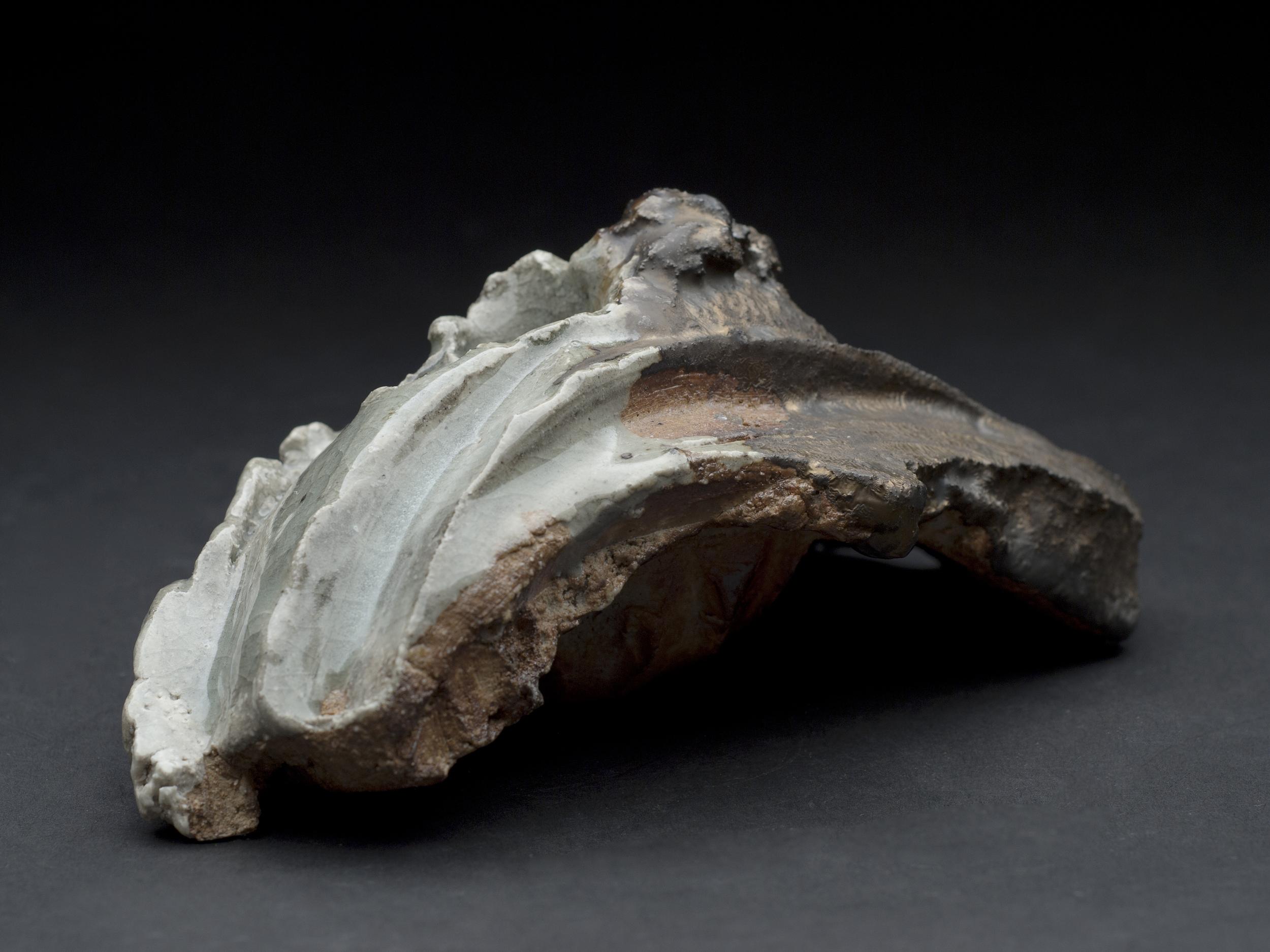 Jeff Shapiro    Small Organic Form  , 2012 Ceramic 2.5 x 6 x 3.5 inches  6.4 x 15.2 x 8.9 cm  JSh 44