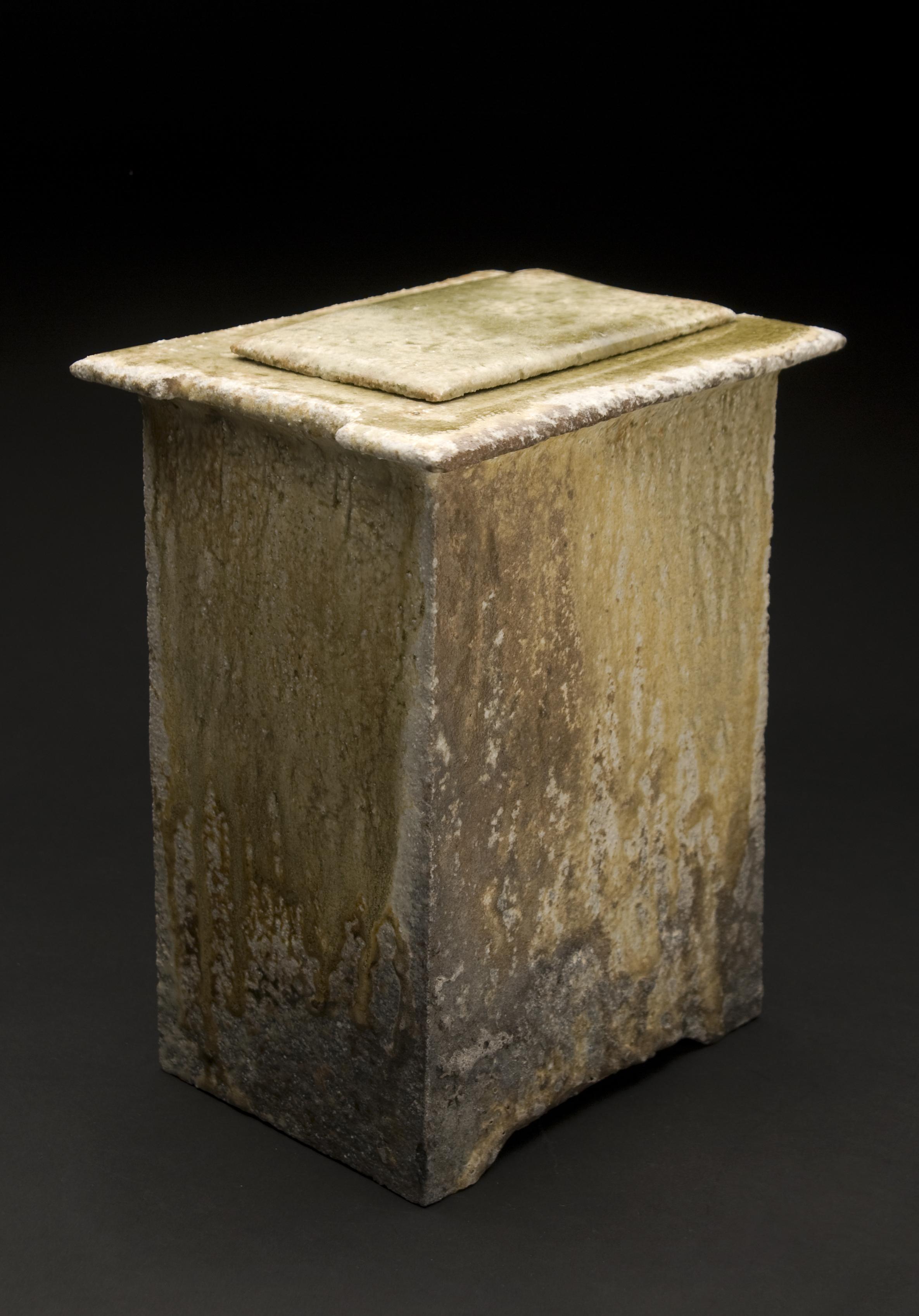 Yoh Tanimoto    Toubako (Large)  , 2011 Fired Ceramic 10 x 8 x 6 inches / 25.4 x 20.3 x 15.2 cm / YTa 1