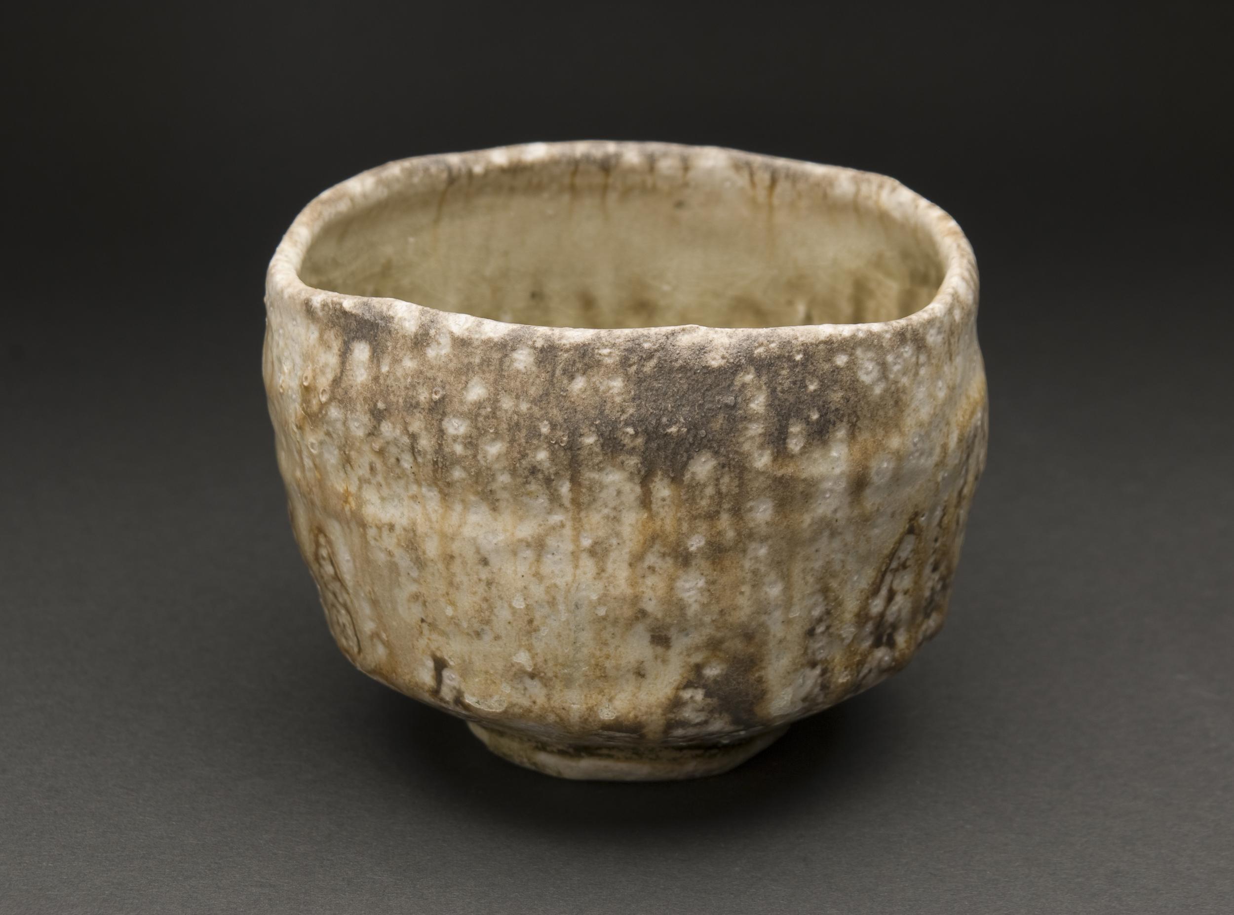 Yoh Tanimoto    Iga Chawan  , 2011 Fired Ceramic 3.75 x 5 x 5 inches / 9.5 x 12.7 x 12.7 cm / YTa 4