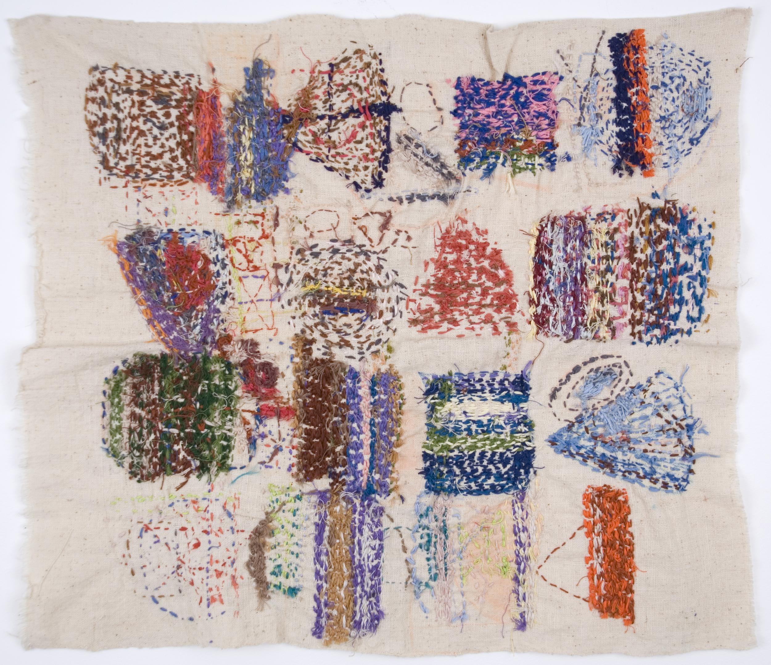 Satoshi Morita    Untitled  , 1997 Cotton, Cotton thread 23 x 21 inches / 58.4 x 53.3 cm / SMo 1