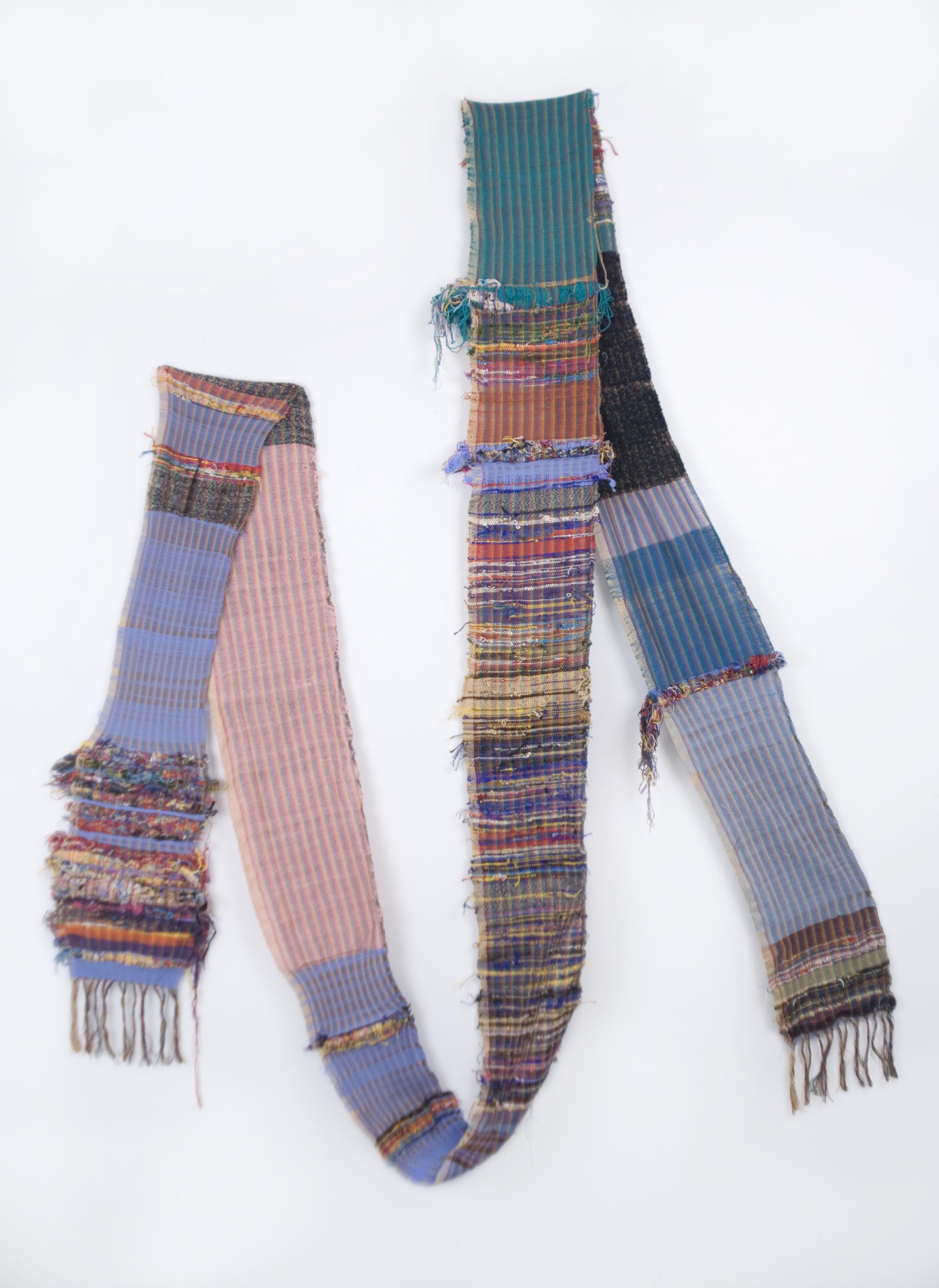 Tami Murakami    Untitled   Cotton 239.37 x 9.06 inches / 608 x 23 cm / TaM 7