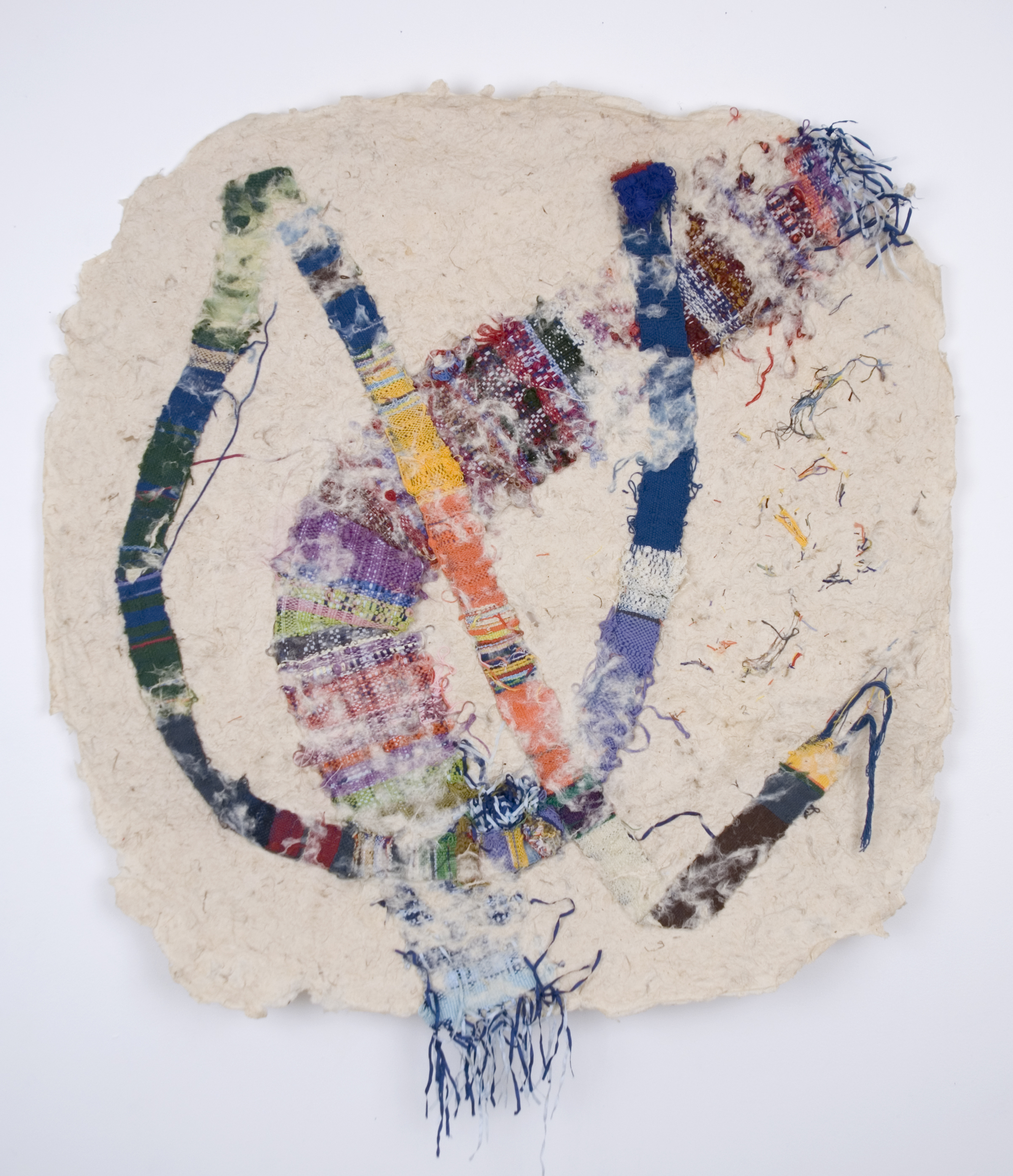 Anonymous    Untitled  , 1998 Fiber, Washi 36 x 34.5 inches / 91.4 x 87.6 cm / Anon 45