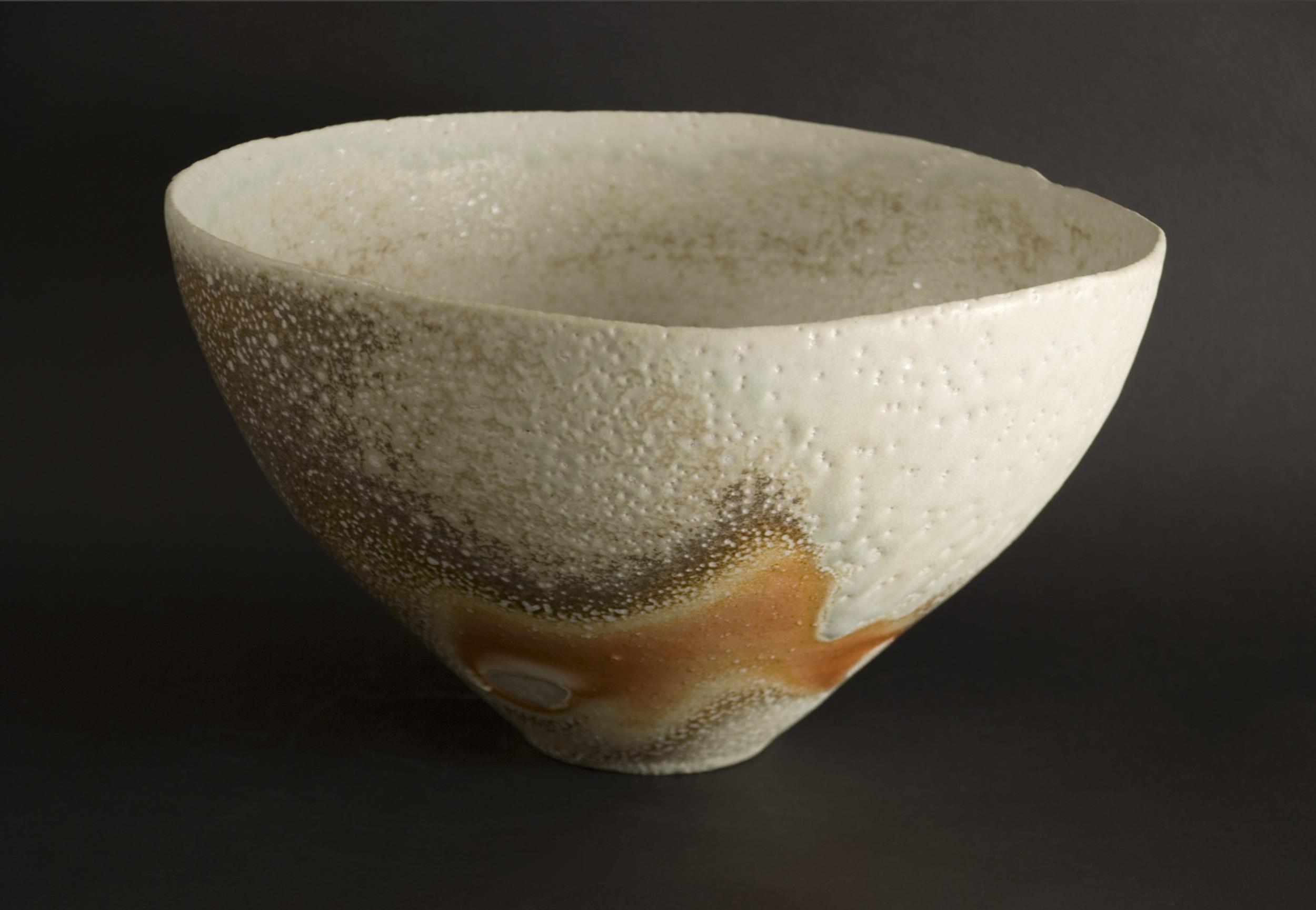 Gail Nichols    Ice Bowl  , 2008 Stoneware, soda vapor glaze 7 x 12.25 x 11.75 inches / 17.8 x 31.1 x 29.8 cm / GAN 20