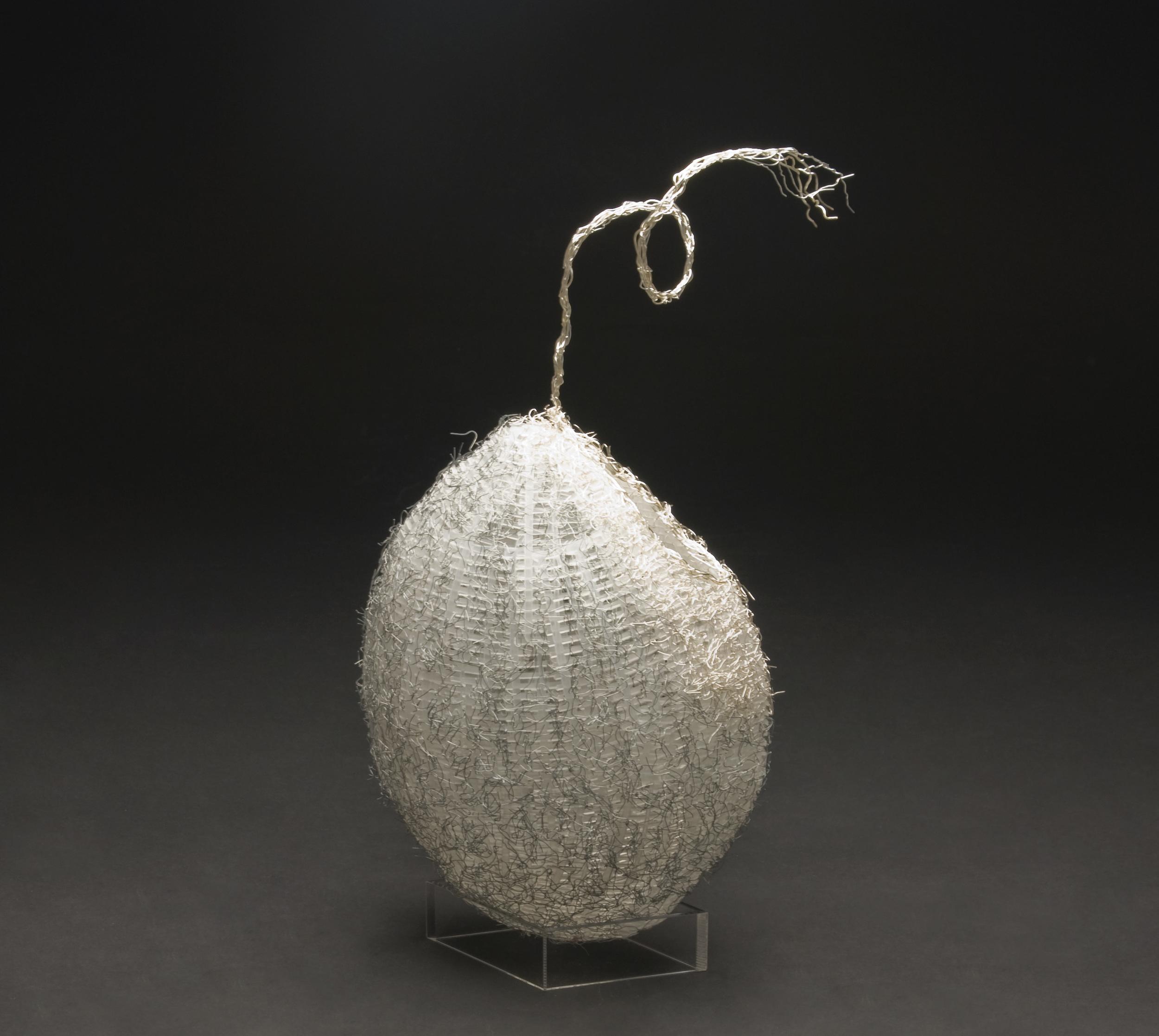Akiko Mio    Seed of Oryza Sativa  , 2010 Plastic, wire 15.75 x 9.84 x 3.94 inches / 40 x 25 x 10 cm / AkM 2