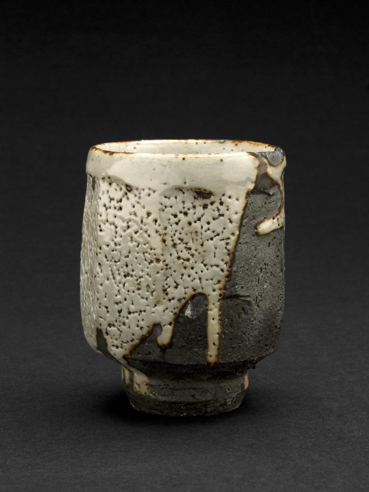 Lisa Hammond    Shino Yunomi  , 2013 Ceramic 3.75 x 2.75 x 2.75 inches 9.5 x 7 x 7 cm LHa 3