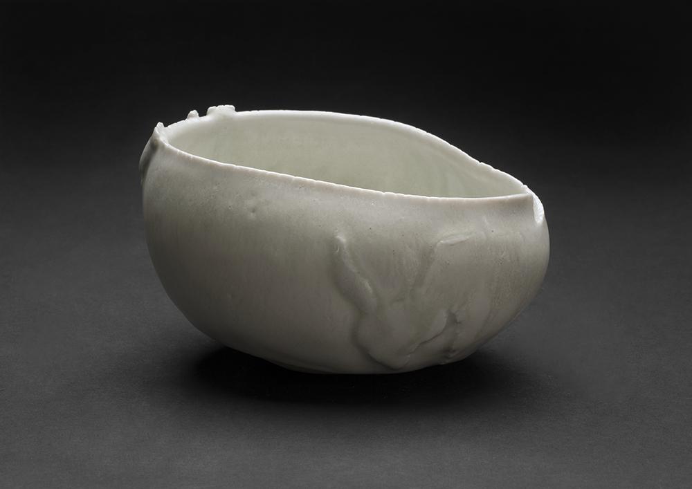 Mami Kato    Omame  , 2013 Porcelain 3 x 5.5 x 4.5 inches 7.6 x 14 x 11.4 cm MmK 10