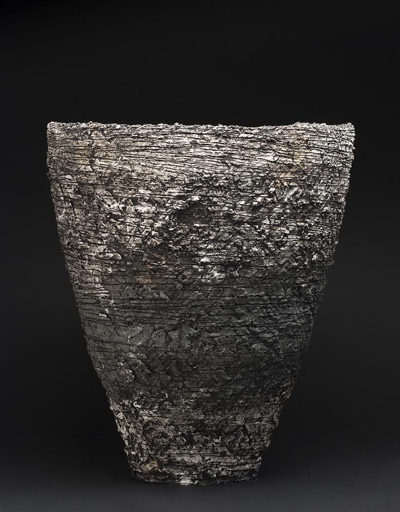Sarah Purvey    Crossover - Landscape Series  , 2013 Ceramic 22.05 x 18.5 x 17.32 inches 56 x 47 x 44 cm SPu 3