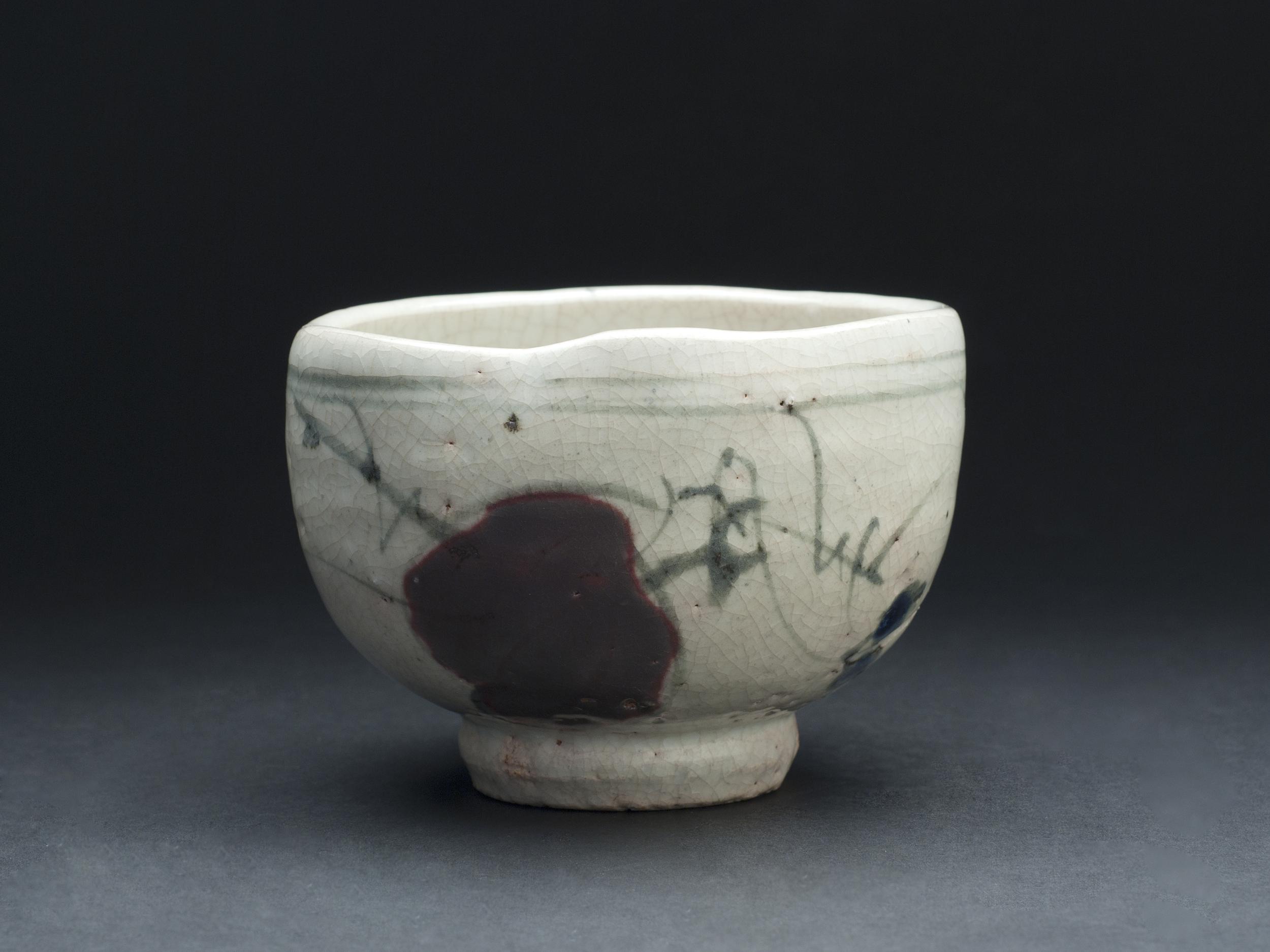 Tae Kwon Ryu    Cho Son Baek Cha Cho Hong Bun Chasabal  , 2008 Ceramic 4.5 x 6 inches 11.4 x 15.2 cm TKR 1