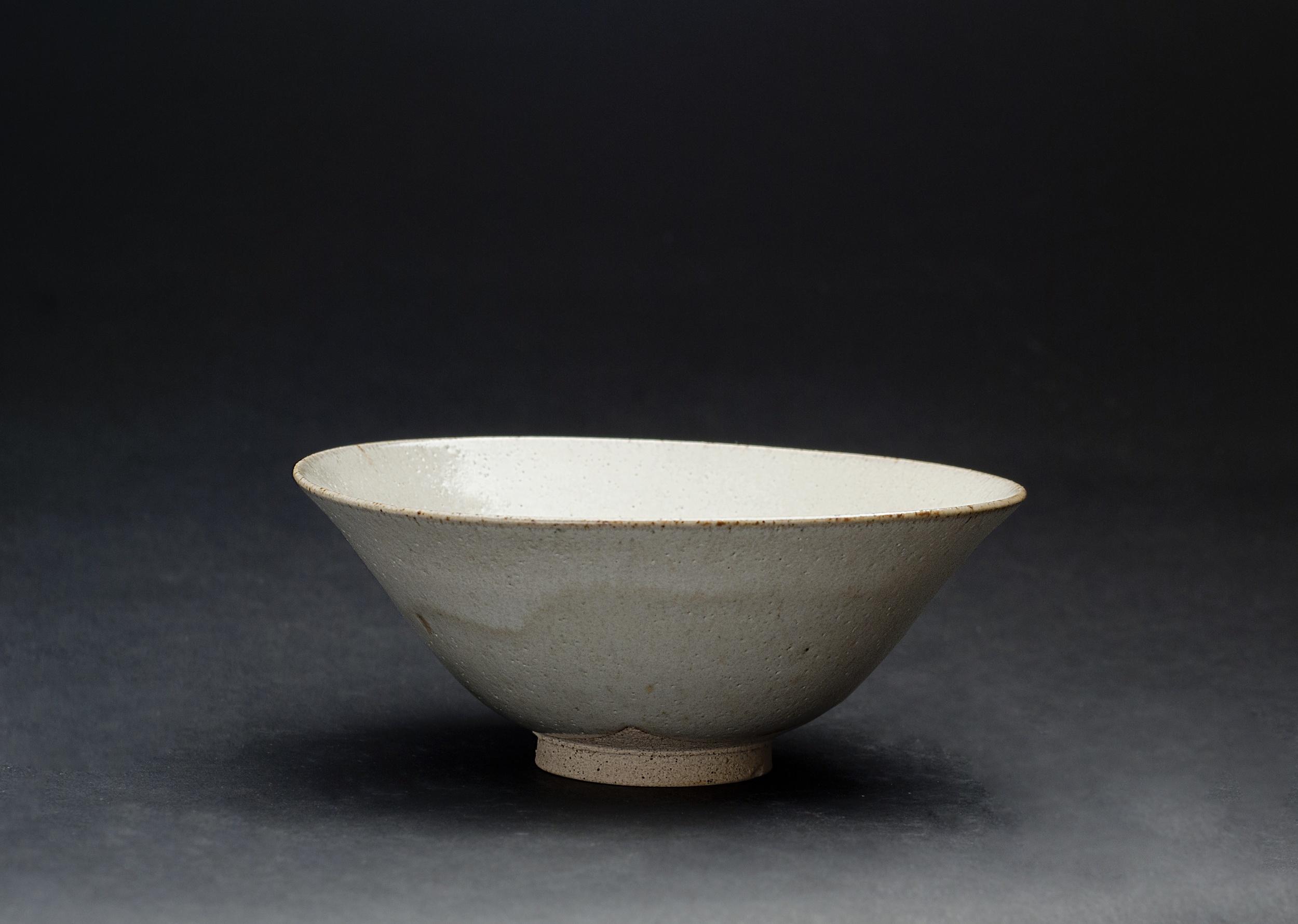 Gyozo Furuse    Summer Tea bowl   Akahada ware, fired ceramic 6 x 6 x 2.25 inches 15.2 x 15.2 x 5.7 cm GFu 1
