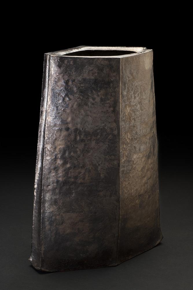 Takashi Tanaka    The Tower of Prayer  , 2014 Ceramic 16.75 x 12 x 6.5 inches 42.5 x 30.5 x 16.5 cm TTa 8