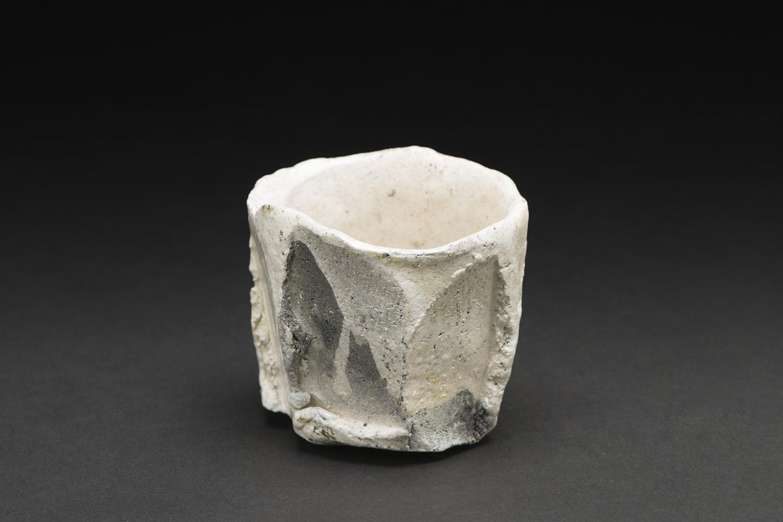 Akihiro Nikaido    Guinomi  , 2015 Ceramic 2.5 x 2.5 x 2.5 inches 6.4 x 6.4 x 6.4 cm ANk 18