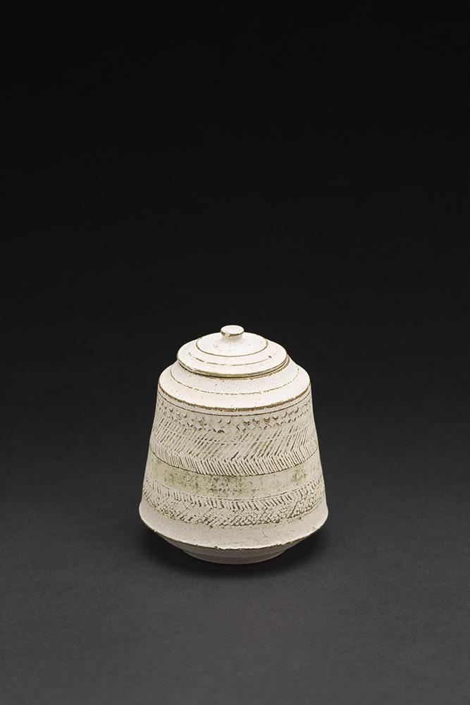 Akihiro Nikaido    Natsume  , 2015 Ceramic 2.5 x 2.5 x 2.5 inches 6.4 x 6.4 x 6.4 cm ANk 21