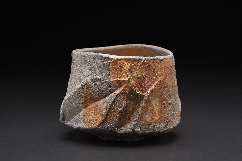 Akira Satake    Chawan  , 2015 Stoneware 3.5 x 4 x 4 inches 8.9 x 10.2 x 10.2 cm ASa 27