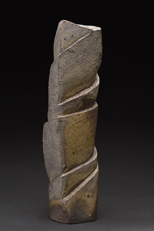 Tim Rowan    Untitled  , 2015 Ceramic 17 x 4 x 4 inches 43.2 x 10.2 x 10.2 cm TR 159