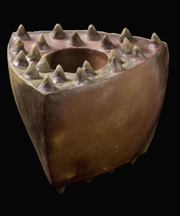 Tim Rowan    Untitled  , 2004 Fired ceramic 13 x 9.5 x 11 in(33.0 x 24.1 x 27.9 cm) TR 4