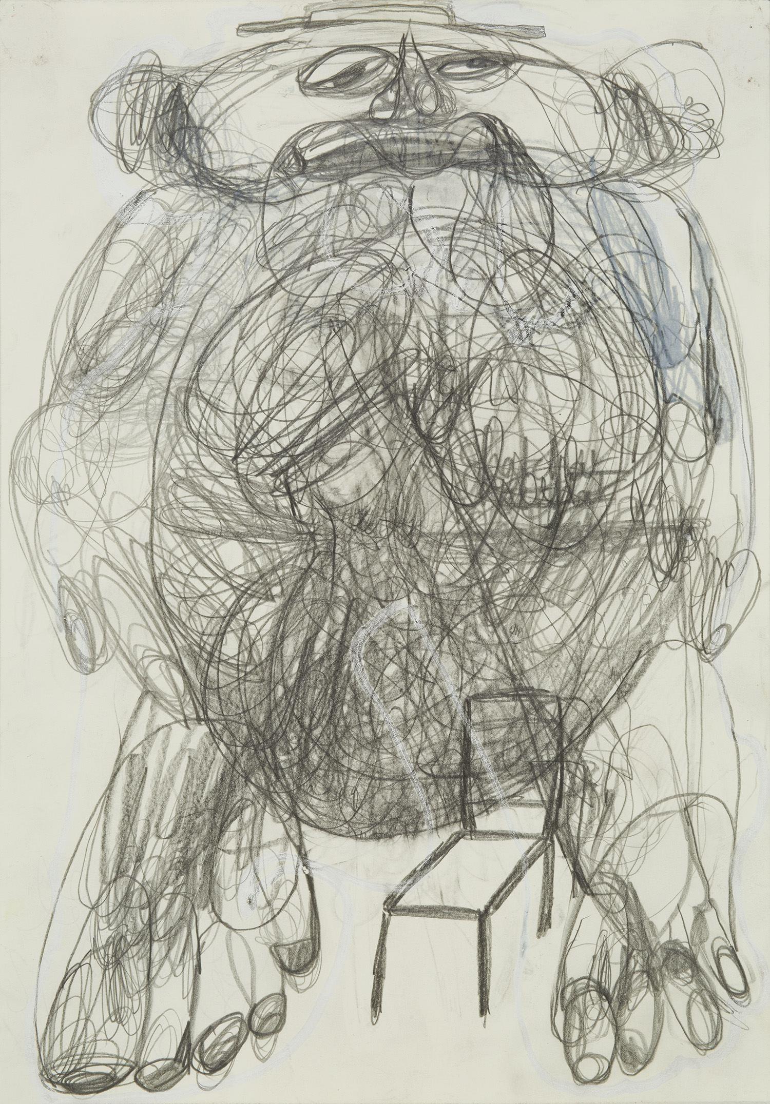 Caroline Demangel    Untitled  , 2014 Mixed media on paper 11.75 x 8.25 inches 29.8 x 21 cm CDm 6