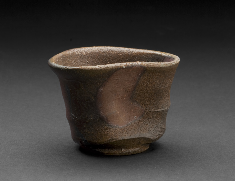 Masahiro Miyao    Bizen Guinomi  , 2005 Woodfire Ceramic 2 x 3 x 2.5 inches 5.1 x 7.6 x 6.4 cm MiM 1