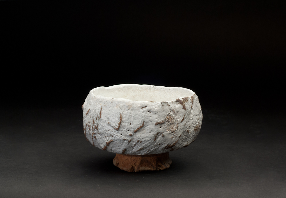 Paul Fryman    Chawan  , 2012 Woodfired clay 3.5 x 5.5 inches 8.9 x 14 cm PDr 2