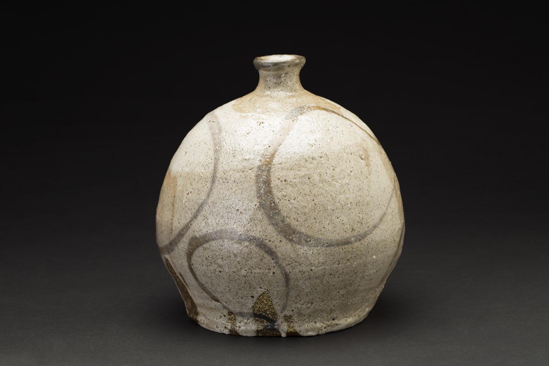 Jeff Shapiro    Bizen Tsubo  , 2005 Woodfired Ceramic 7.5 x 6.5 in(19.1 x 16.5 cm) Signed On Bottom JSh 2